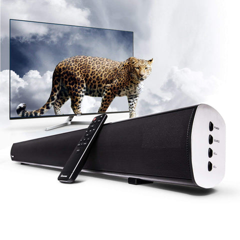 Wohome 34'' TV Soundbar Wireless Bluetooth and Wired Home Theater Speaker System S19