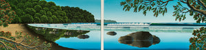Beach Dyptych SOLD