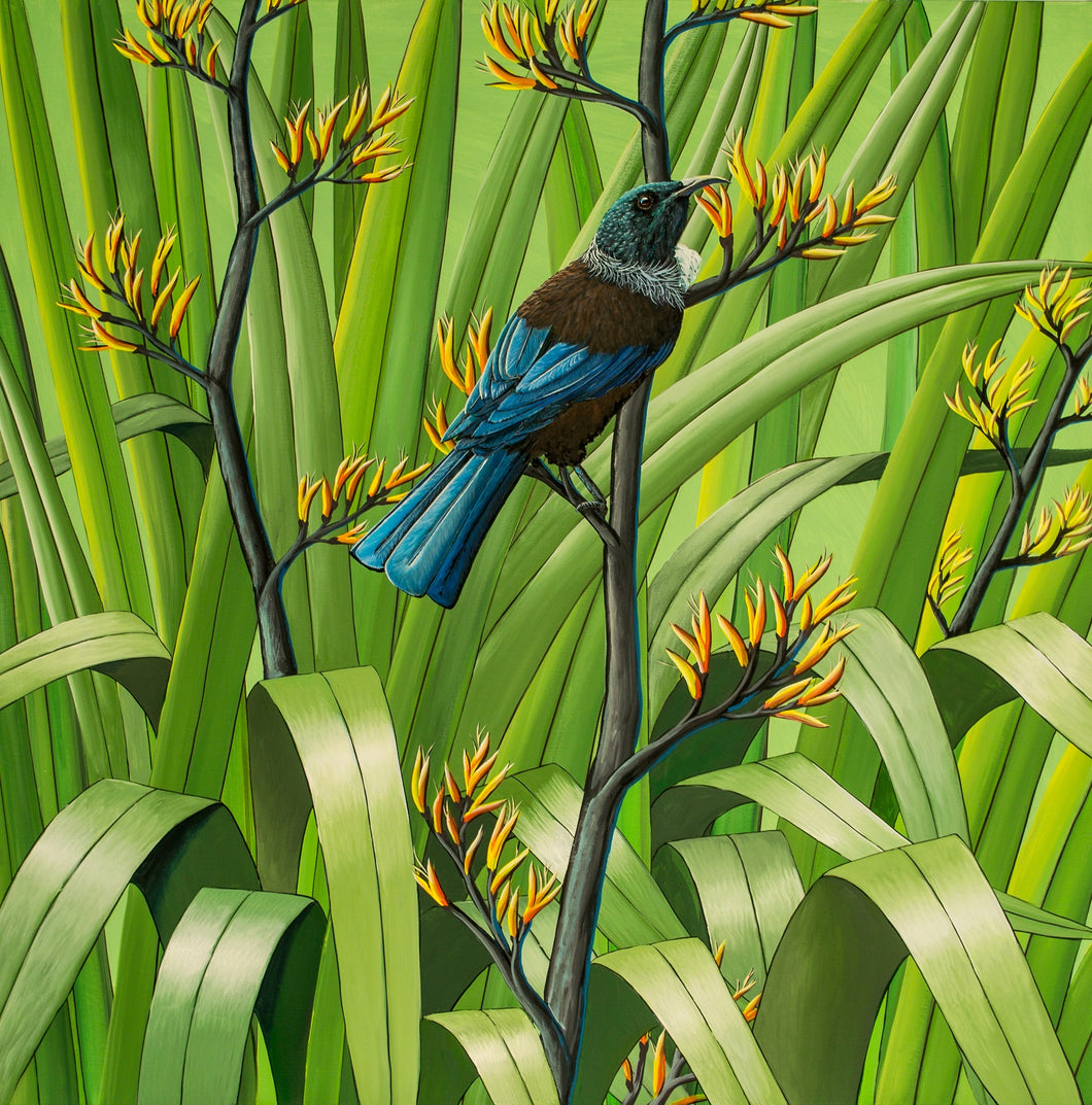 Tui and Flax 2- SOLD