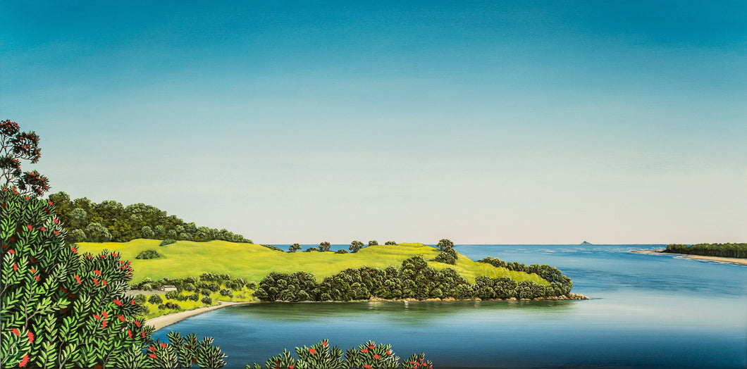 Anzac Bay Looking North- Paper Print