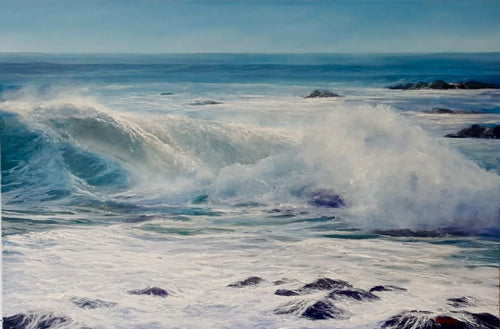 Crashing Wave- SOLD