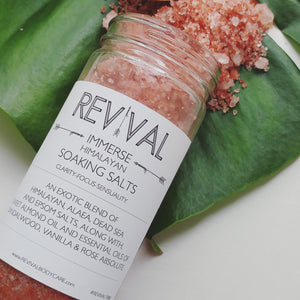 IMMERSE SOAKING SALTS - HIMALAYAN