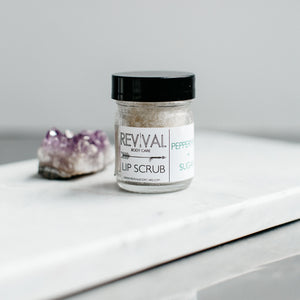 PEPPERMINT + SUGAR LIP SCRUB