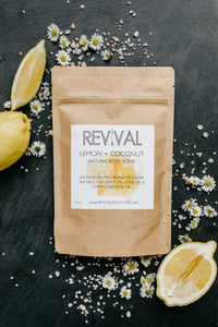 LEMON + COCONUT BODY SCRUB