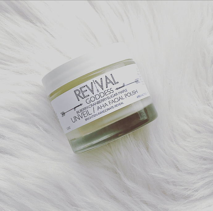 GODDESS UNVEIL AHA FACIAL POLISH
