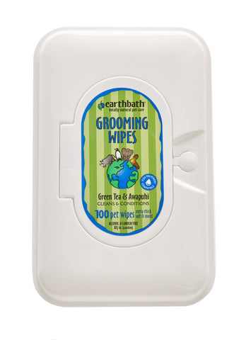 Earthbath Green Tea Grooming Wipes