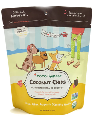 CocoTherapy Coconut Chip Treats