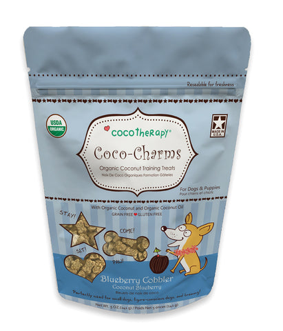 CocoTherapy Coco-Charms Blueberry Cobbler Treats