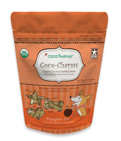 CocoTherapy Coco-Charms Pumpkin Pie Treats
