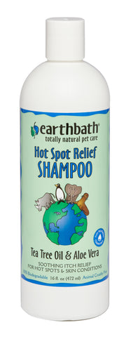 Earthbath Tea Tree & Aloe Vera Hot Spot Relief Shampoo