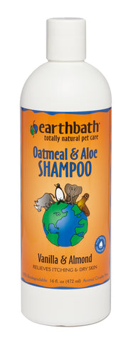Earthbath Oatmeal & Aloe Shampoo - Vanilla & Almond