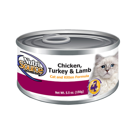 NutriSource Chicken/Turkey/Lamb - CAT