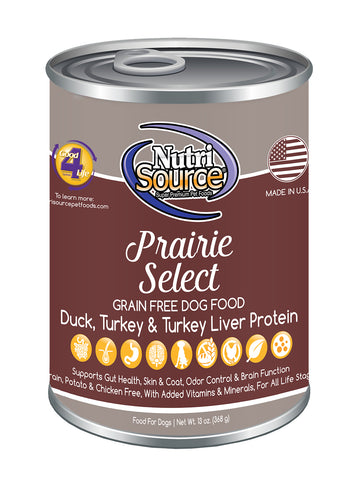 NutriSource Grain Free Prairie Select