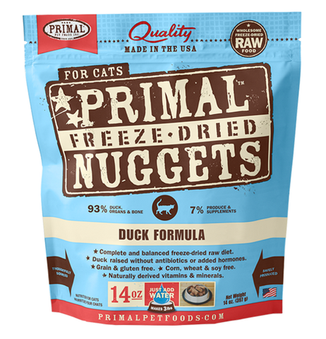 Primal Freeze-Dried Duck - CAT