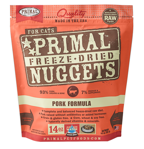 Primal Freeze-Dried Pork - CAT