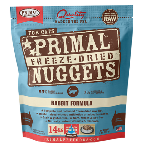 Primal Freeze-Dried Rabbit - CAT