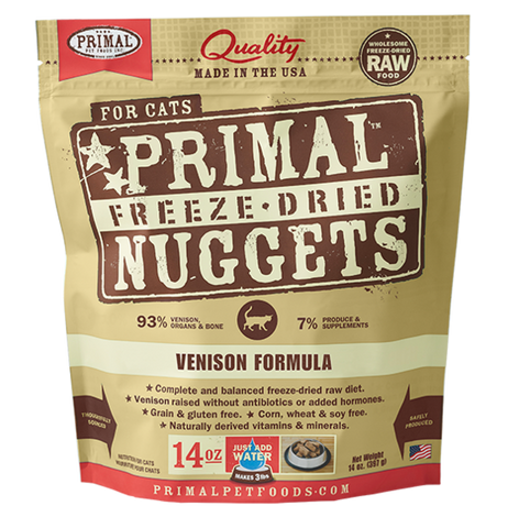 Primal Freeze-Dried Venison - CAT