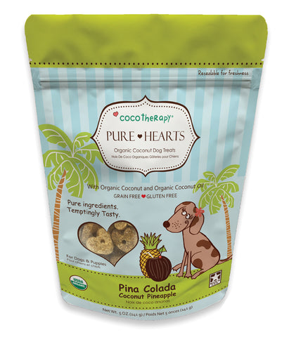 CocoTherapy Pure Hearts Coconut Cookies Pina Colada Treats