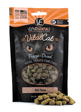Vital Essentials Freeze-Dried Ahi Tuna Treats - CAT
