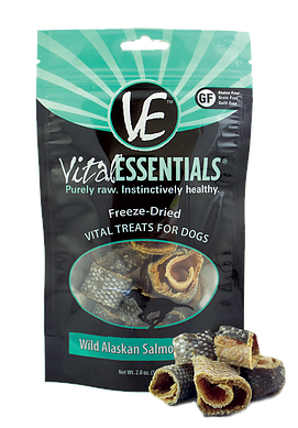 Vital Essentials Freeze-Dried Wild Alaskan Salmon Ring Treats
