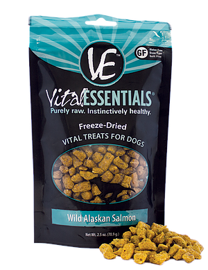 Vital Essentials Freeze-Dried Wild Alaskan Salmon Treats