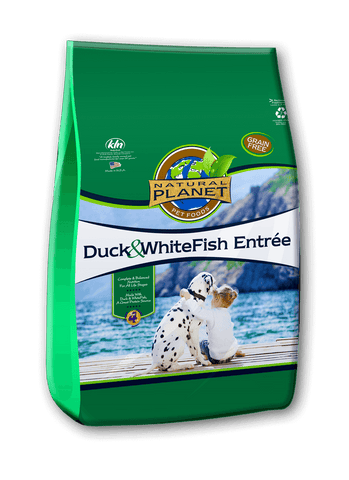 Natural Planet Grain Free Duck & Whitefish