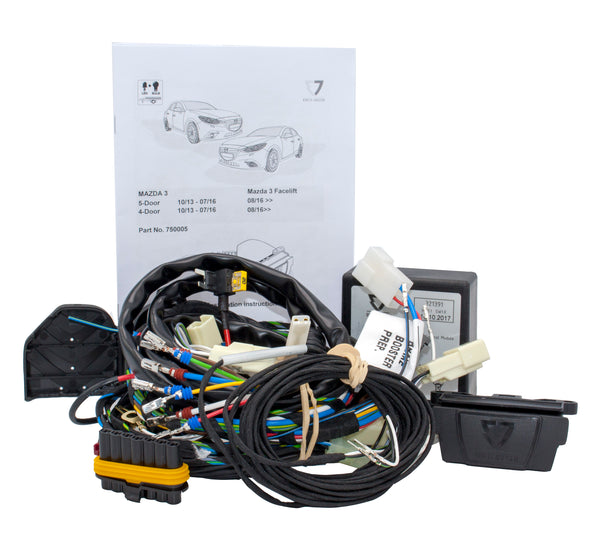 Towing Electrical Kit - 7P/12V - MAZDA 3 - 10/13-03/19 (750005EJ)