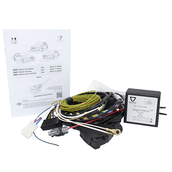 Towing Electrical Kit - 7P/12V - BMW Various Models (Low Speed CAN -02/14) - (750018EJ)