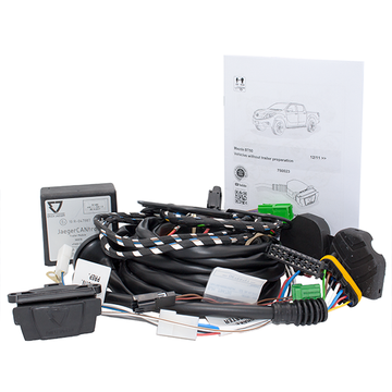 Towing Electrical Kit - 7P/12V - MAZDA BT-50 - 12/11 --- (750023EJ)