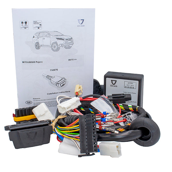 Towing Electrical Kit - 7P/12V - MITSUBISHI Pajero Sport - 09/15- (750076EJ)