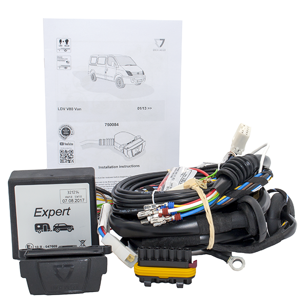Towing Electrical Kit - 7P/12V - LDV V80 Van - 01/13-  (750084EJ)