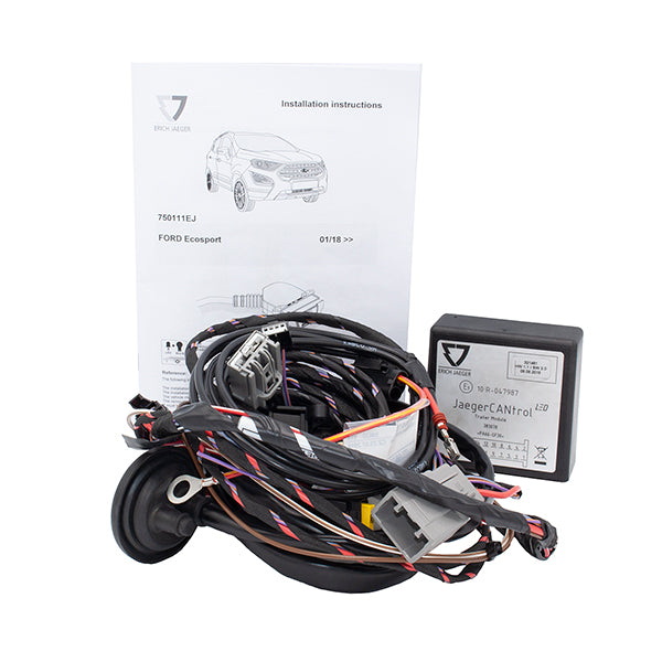 Towing Electrical Kit - 7P/12V - FORD Focus Ecosport - 01/18- (750111EJ)
