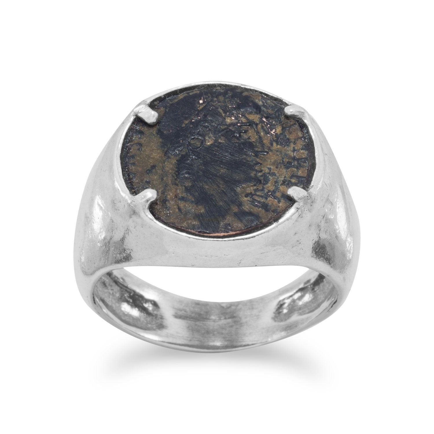 Ancient Roman Rings ancient roman coin ring