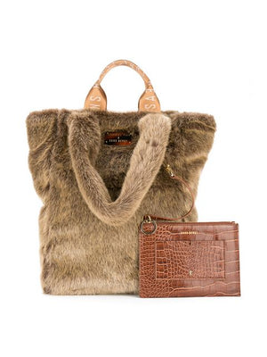 Tzippy Tote in Walnut