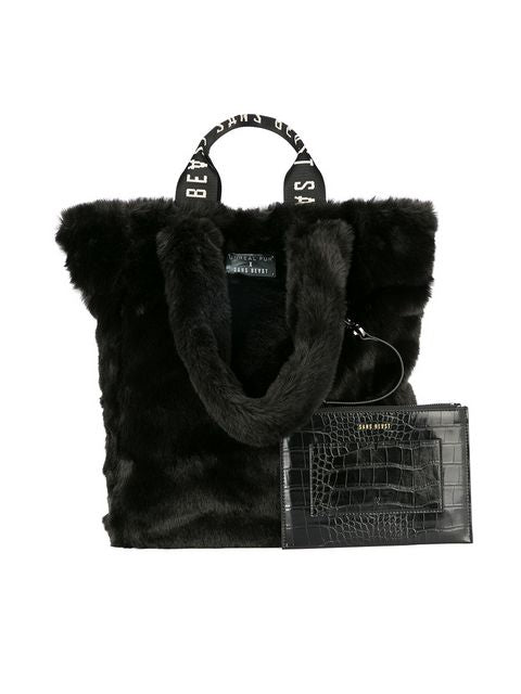 Tzippy Tote in Noir
