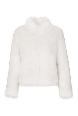 Fur Delicious Jacket in Ivory