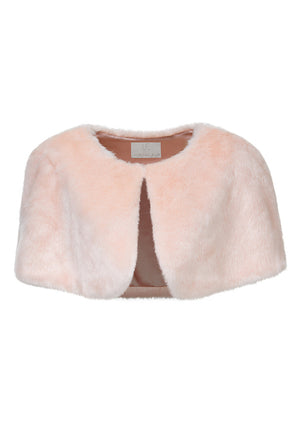 Love Me Tender Capelet in Pink