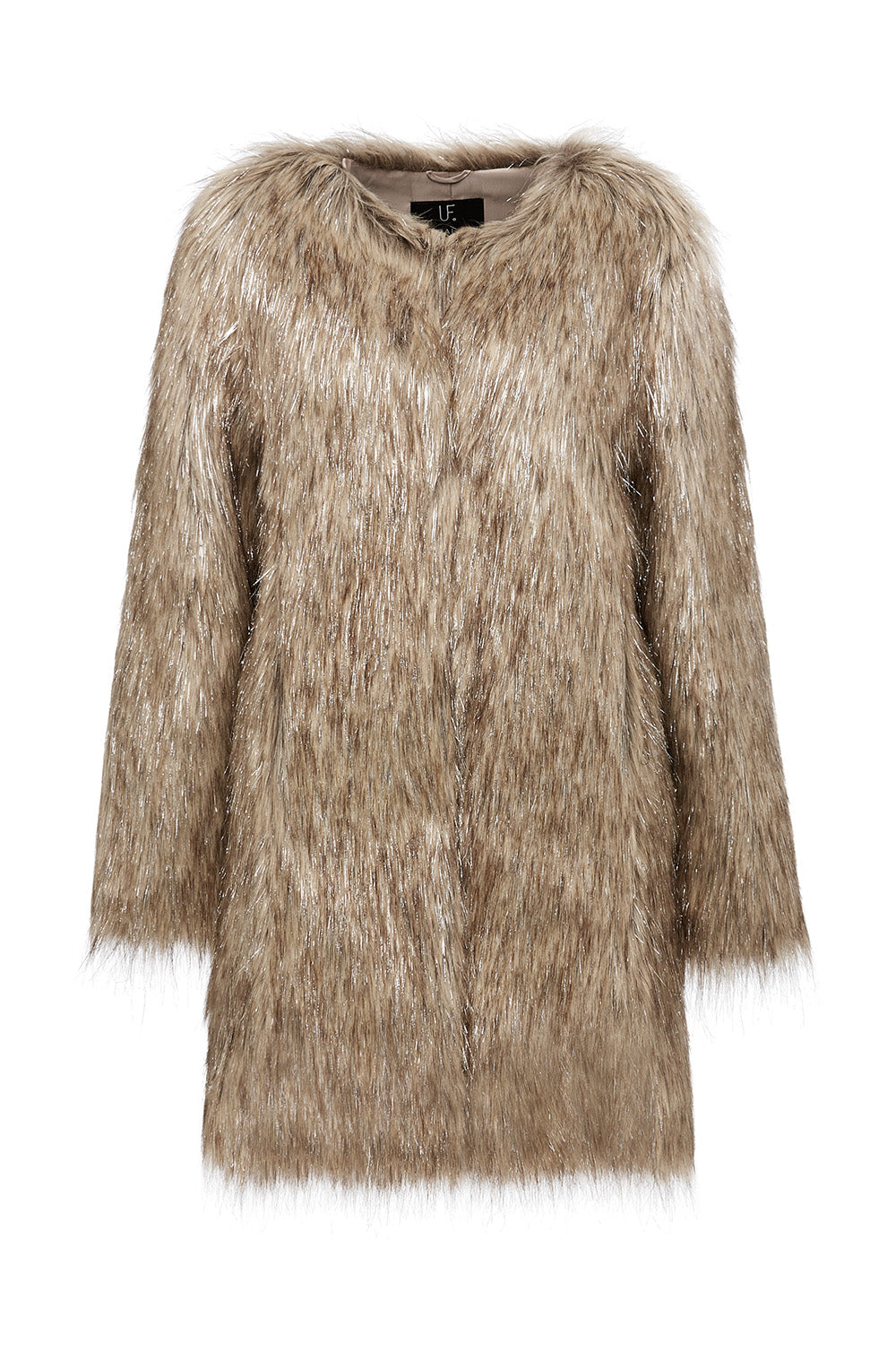 Wanderlust Coat in Natural Metallic