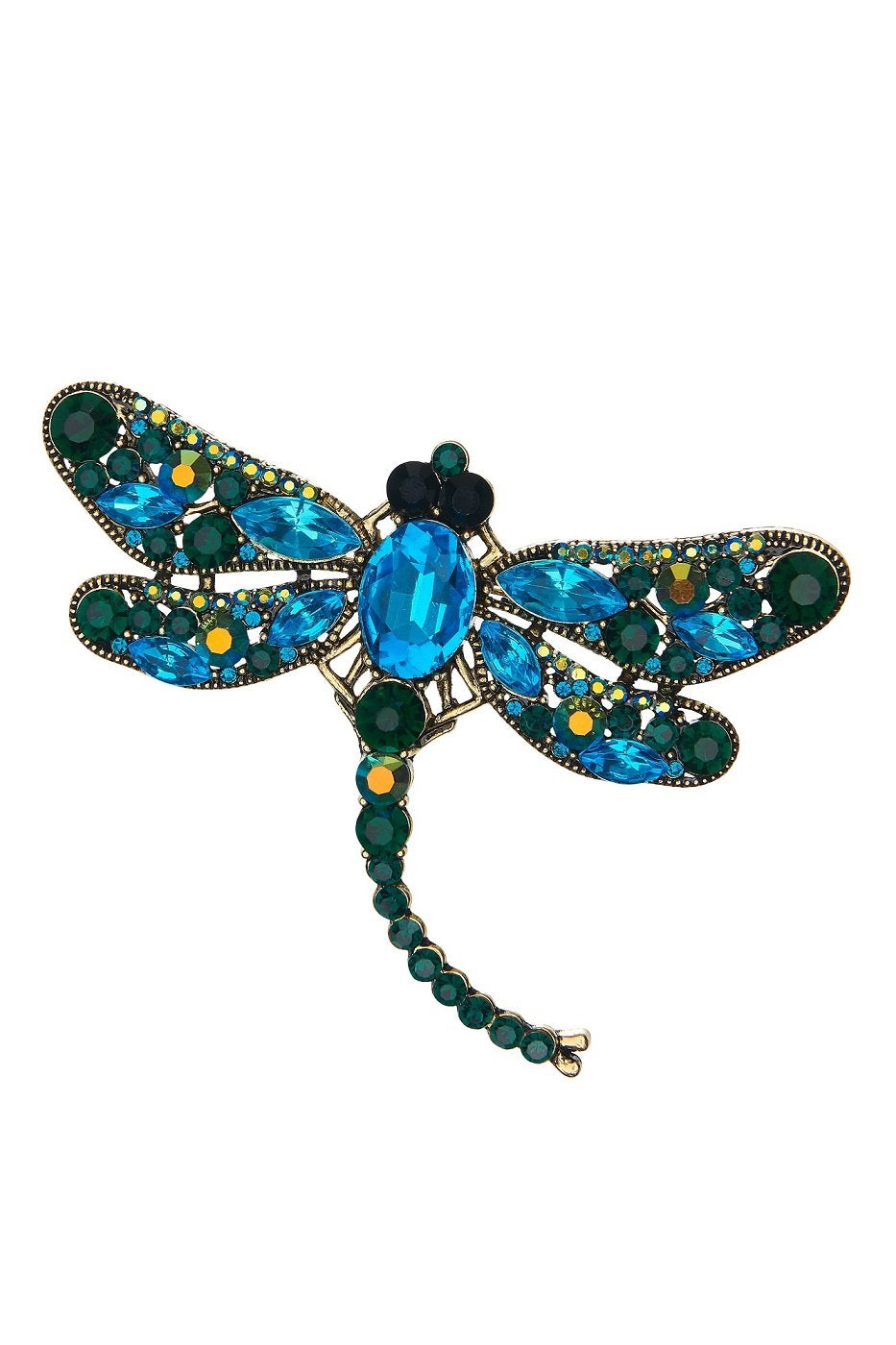 Dragon Fly Brooch