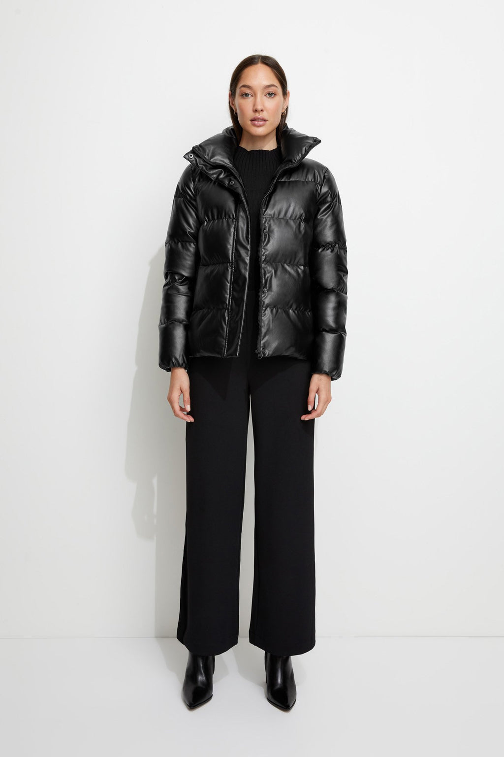 Major Tom Puffer Jacket in Black