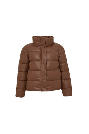 Mini Major Tom Puffer Jacket in Tan