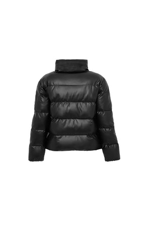 Mini Major Tom Puffer Jacket in Black