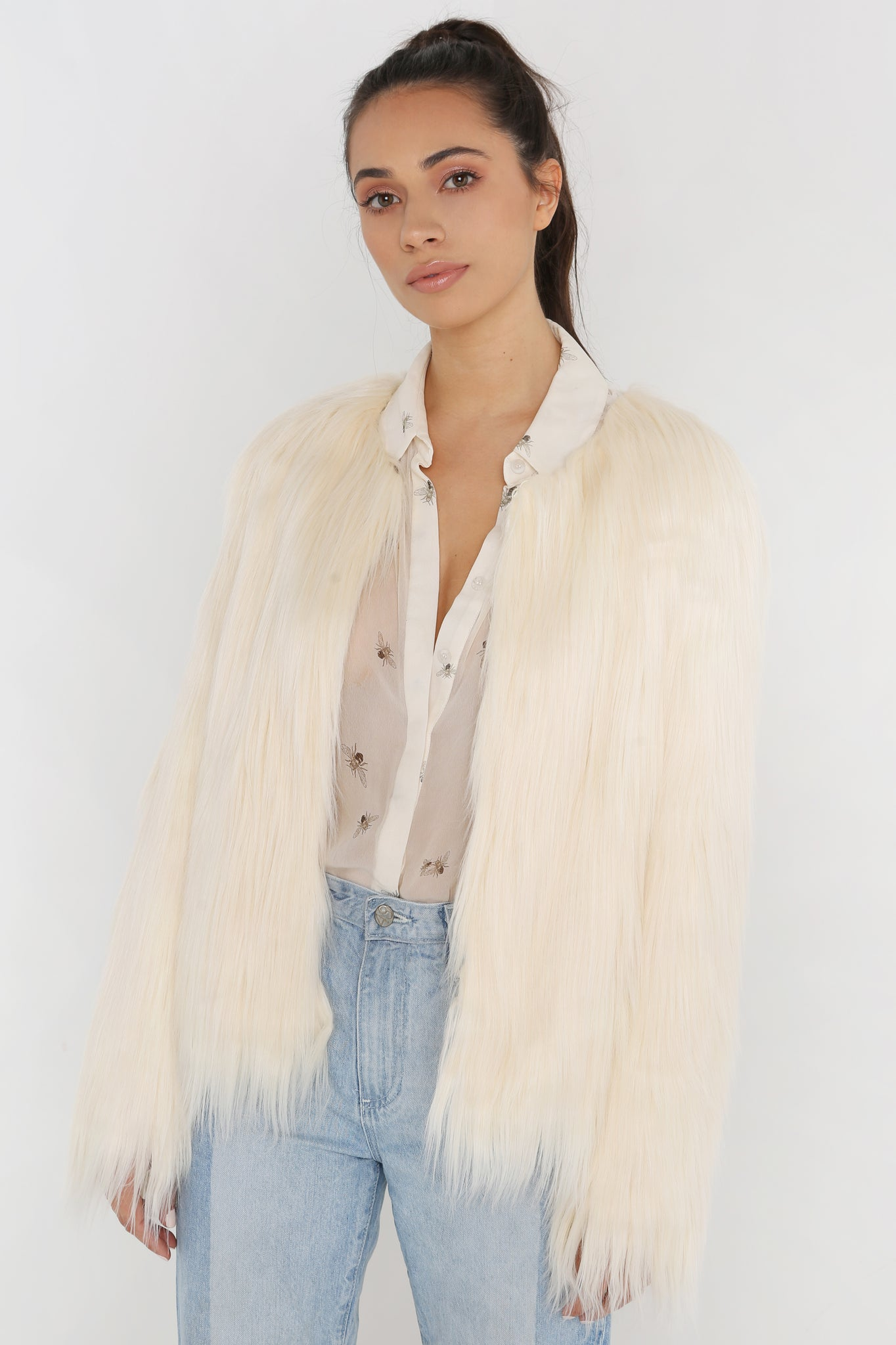Unreal Dream Jacket in Ivory