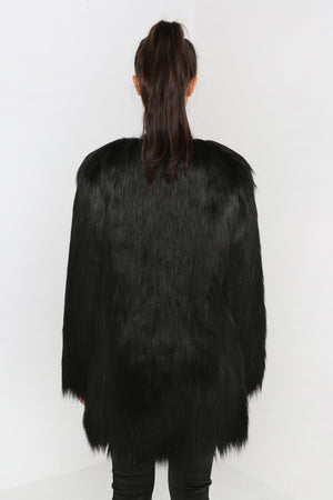 Wanderlust Coat In Black