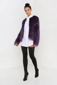 Unreal Dream Jacket in Grape