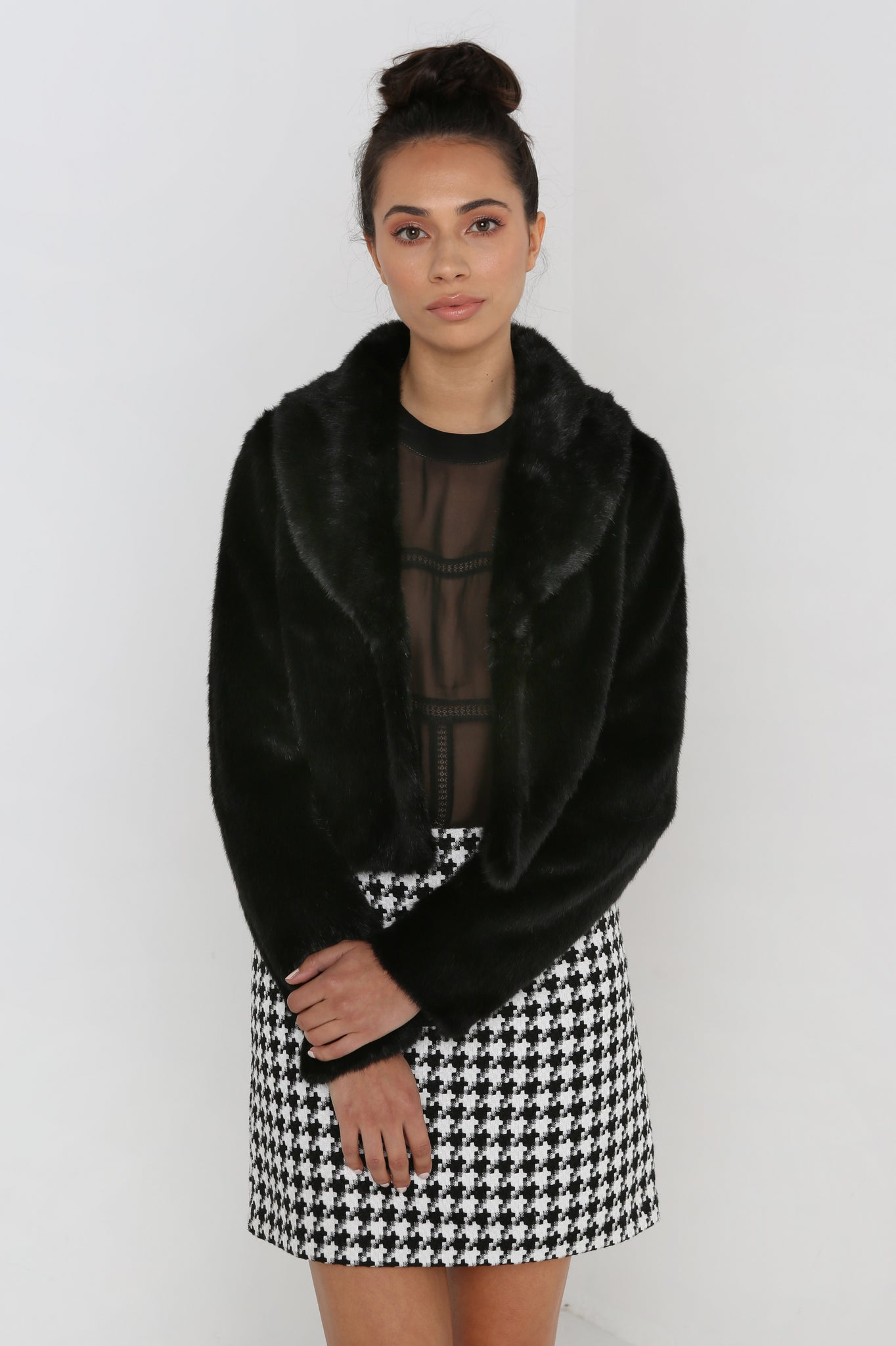 Short & Sweet Jacket in Black