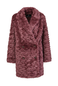 Fur & Square Coat