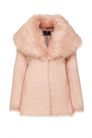Premium Rose Jacket in Shell Pink
