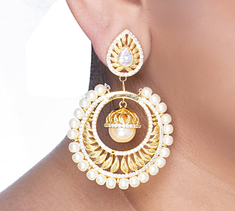 Naziran Earrings - Artify Jewelry