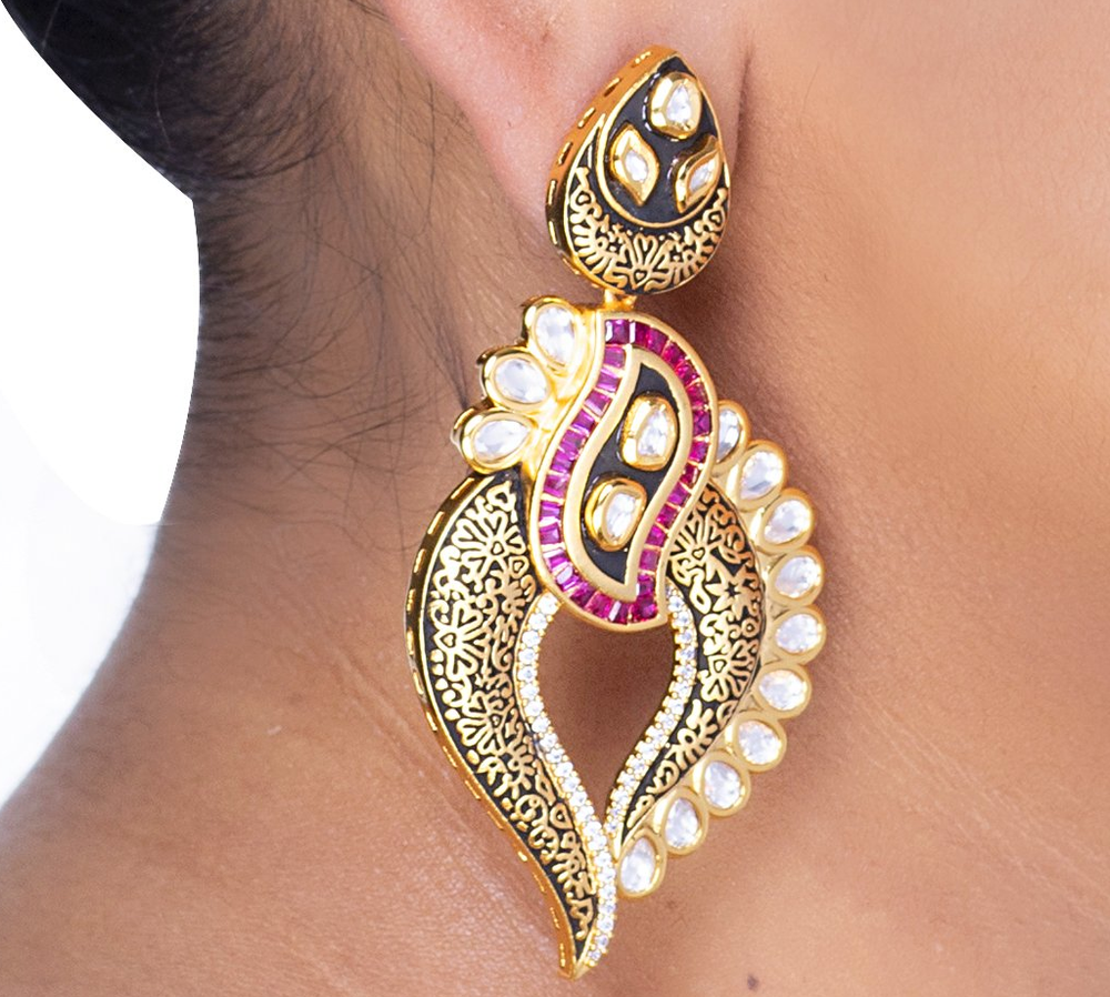 Reshali Earrings - Artify Jewelry